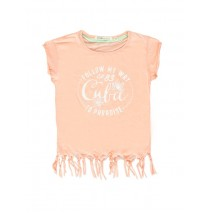 131337 Encounter teen girls shirt combo 1 peach (6 pcs)