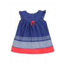 131418 Baby girls dress combo 1 blue (4 pcs)