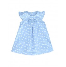 131421 Baby girls dress combo 1 vista blue (4 pcs)