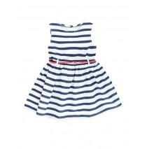 Riviera small girls dress navy (5 pcs)
