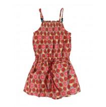 Small girls overall peach (5 pcs)