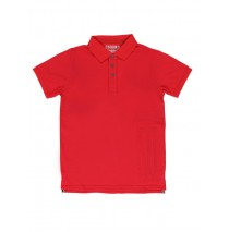 Teen boys polo racing red (6 pcs)