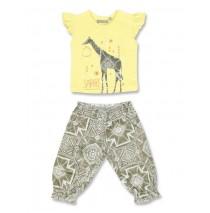 131678 Baby girls set shirt+pant combo 1 lemon drop (4 pcs)