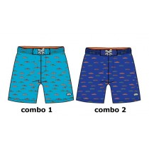 131679 Encounter small boys swimwear Combo 2 navy blazer (6 pcs)