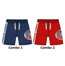 131696 Pauze small boys swimwear Combo 2 racing red (6 pcs)