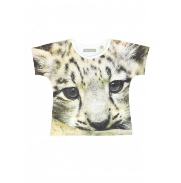131714 Encounter baby girls shirt combo 1 leopart (4 pcs)