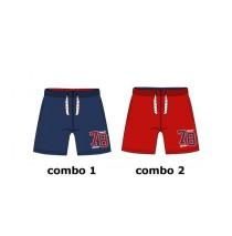 Pauze teen boys swimwear Combo 2 racing red (6 pcs)