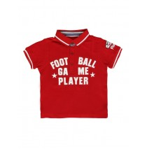 132312 Sport small boys polo Combo 1 racing red (5 pcs)