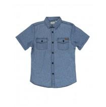 132314 Edgelands teen boys denim blouse blue (5 pcs)