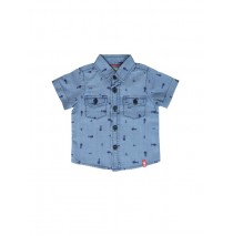 132318 Riviera baby boys shirt combo 1 navy (4 pcs)