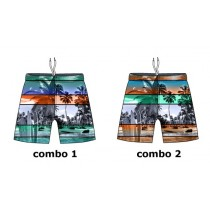 132356 Encounter teen boys swimwear Combo 2 orange (6 pcs)