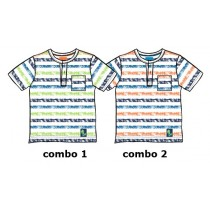 132377 Edgelands baby boys shirt combo 2 nasturtium (4 pcs)
