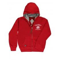 132919 Encounter teen boys cardigan sweater racing red (5 pcs)