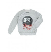 Edgelands teen boys sweatshirt light gray melange (5 pcs)