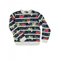 Encounter teen boys sweatshirt light gray melange (5 pcs)