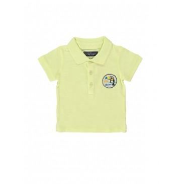 132977 Encounter baby boys polo combo 1 pale lime yellow (4 pcs)