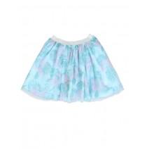 132985 Encounter small girls skirt blue glow (5 pcs)