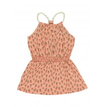 Encounter small girls dress peach (5 pcs)