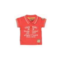 132998 Baby boys polo combo 1 deep sea coral  (4 pcs)