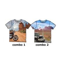 Edgelands teen boys shirt Combo 2 jeep (2 pcs)