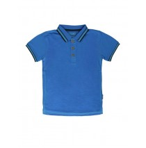 Digital wave teen boys polo Combo 1 french blue (6 pcs)