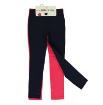 133105 Basic small girls legging two pack raspberry (5 pcs)