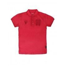 Teen boys polo claret red (6 pcs)