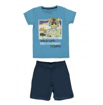 Encounter small boys set Combo 1 cendre blue (6 pcs)
