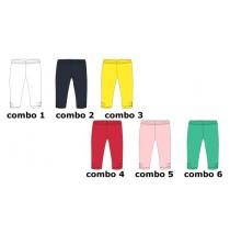 Basic small girls legging 3 colors (18 pcs)
