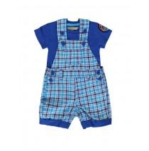Riviera baby boys set shirt+overall combo 1 french blue (4 pcs)