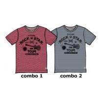 Edgelands teen boys shirt Combo 2 crown blue (6 pcs)