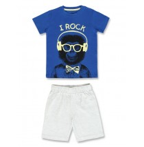 Digital wave small boys set Combo 1 french blue (6 pcs)