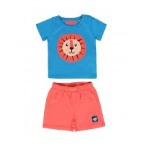 Baby boys set shirt+short combo 1 blue danube (4 pcs)