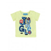 133639 Baby boys shirt combo 1 pale lime yellow (4 pcs)