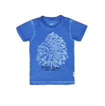 Encounter small boys shirt Combo 1 french blue (6 pcs)