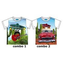 Baby boys shirt combo 2 cavia (4 pcs)