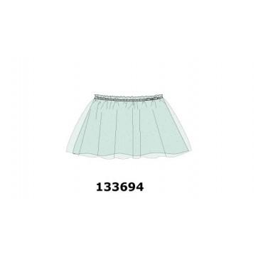 133694 Pauze small girls skirt heather (5 pcs)