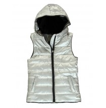 133848 Nocturne teen girls bodywarmer silver (5 pcs)
