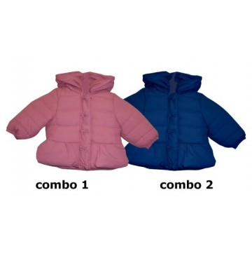 Infusion baby girls jacket combo 2 blue depths (4 pcs)