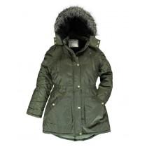 Infusion teen girls jacket dark green (5 pcs)