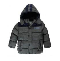 133918 Nocturne small boys jacket grey melange (5 pcs)