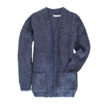 133937 Nocturne teen girls cardigan combo 1 blue (6 pcs)