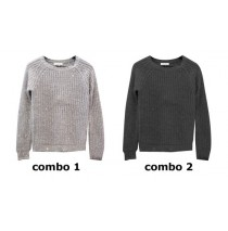 133995 Infusion teen girls pullover combo 2 black (6 pcs)