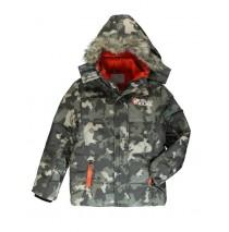 134004 Earthed teen boys jacket kaki (5 pcs)