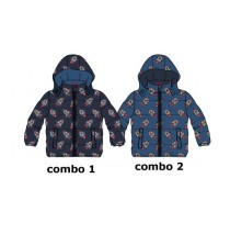 Infusion baby boys jacket combo 2 true navy (4 pcs)