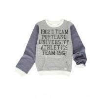 134210 Design Matters teen boys sweatshirt combo 1 blue melange (6 pcs)