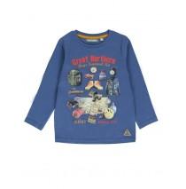 134407 Earthed small boys shirt combo 1 true navy (6 pcs)
