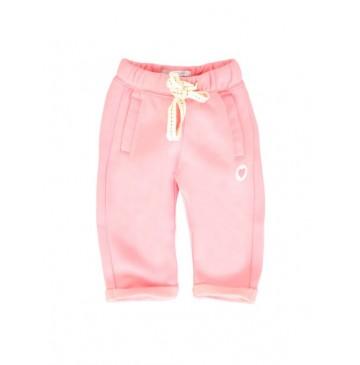 134459 Infusion baby girls jogging pant combo 1 flamingo pink (4 pcs)