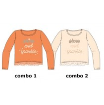134494 Infusion small girls pullover combo 2 pearl (6 pcs)