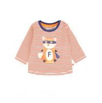 134555 Earthed baby boys shirt combo 1 ketchup (4 pcs)